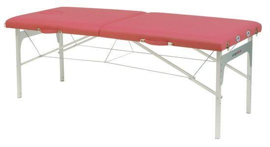 Składany stół do masażu o regulowanej wysokości Ecopostural C3411