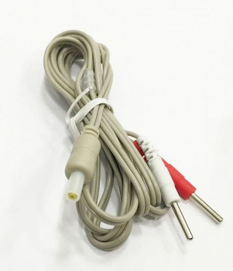 Câble de connexion gris G3330 pour electrostimulateur Globus