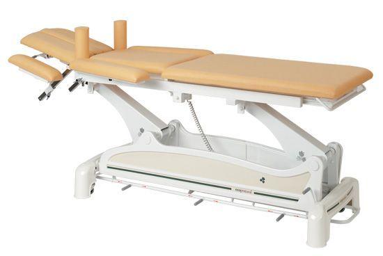 Elektryczny, wielofunkcyjny stół, z szynowym kontrolerem obsługiwanym nogami C3532M47 firmy Ecopostural
