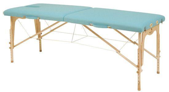 Składany stół do masażu o regulowanej wysokości Ecopostural C3211