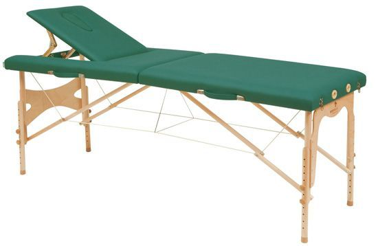 Stół do masażu  z linkami stalowymi oraz regulowanym ustawieniem wysokości C3209 firmy Ecopostural