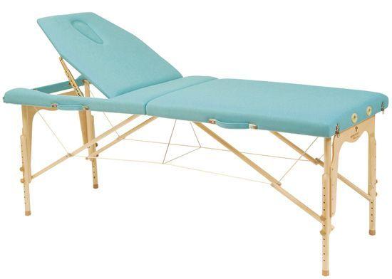 Składany stół do masażu o regulowanej wysokości Ecopostural C3214M61