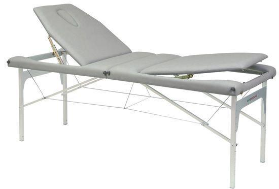 Ecopostural stół do masażu o regulowanej wysokości z linkami stalowymi C3413M61