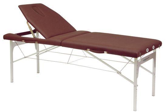 Stół do masażu z linkami stalowymi i z regulowanym ustawieniem wysokości C3414M61 firmy Ecopostural