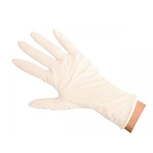Lateksowe rękawiczki do badań
