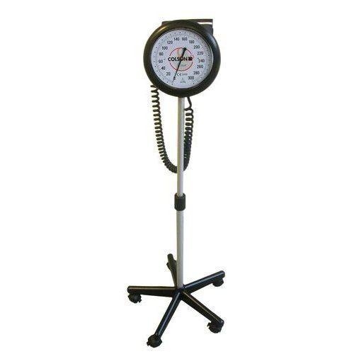 Tytanowy ciśnieniomierz naramienny z dużym zegarem