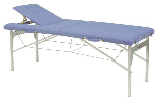 Składany stół do masażu o regulowanej wysokości Ecopostural C3409