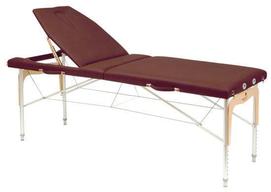 Stół do masażu z regulowaną wysokością i linkami stalowymi Ecopostural 3314