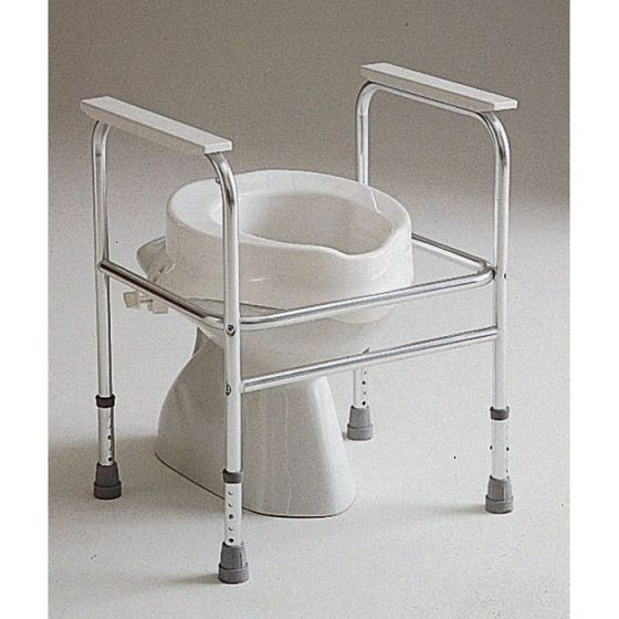 Aluminiowe krzesło toaletowe Adeo Invacare