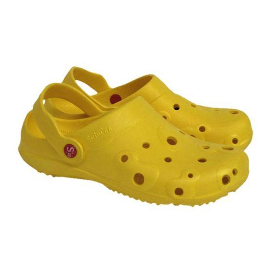 Męskie chodaki Globule Schu'zz, żółte