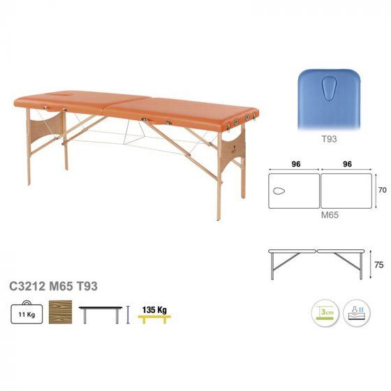 Stół do masażu z linkami stalowymi Ecopostural 3012