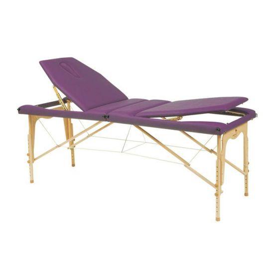 Stół do masażu z linkami stalowymi i z regulowaną wysokością C3213M61 firmy Ecopostural