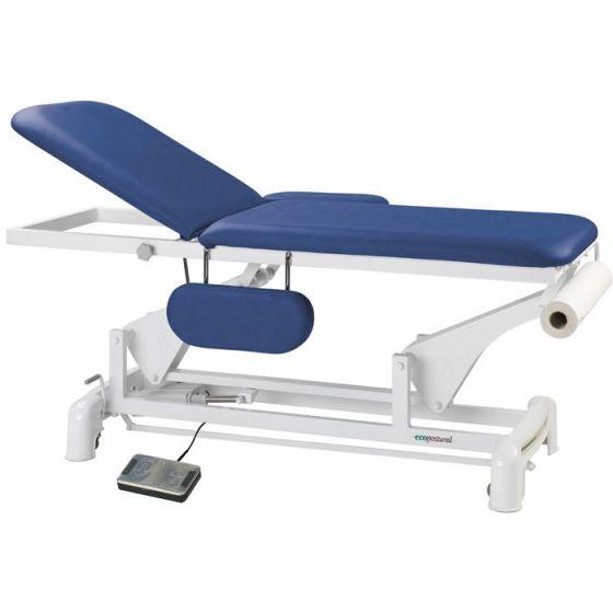 Ecopostural Dwuczęściowy, elektryczny stół do masażu z podłokietnikami C3550