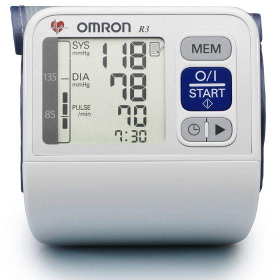 Cyfrowy ciśnieniomierz Omron R3i Plus na nadgarstek