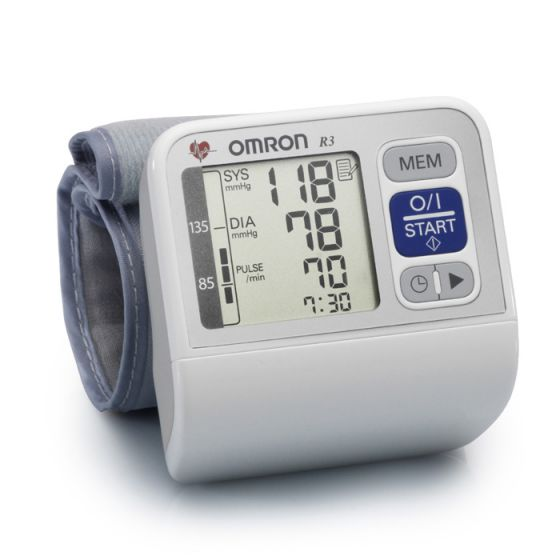 Omron R3, Ciśnieniomierz nadgarstkowy