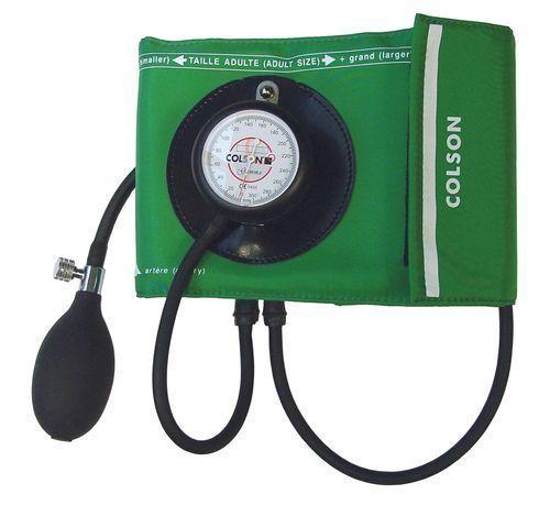Gamma Colson zintegrowany ciśnieniomierz zegarowy wraz z walizką