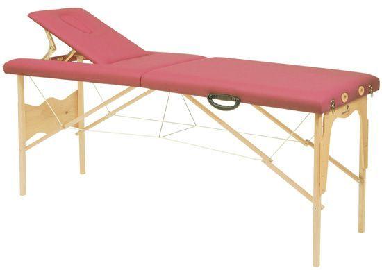 Stół do masażu ze stalowymi linkami firmy Ecopostural 3015